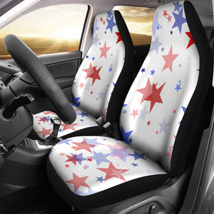 USA Star Pattern Universal Fit Car Seat Covers