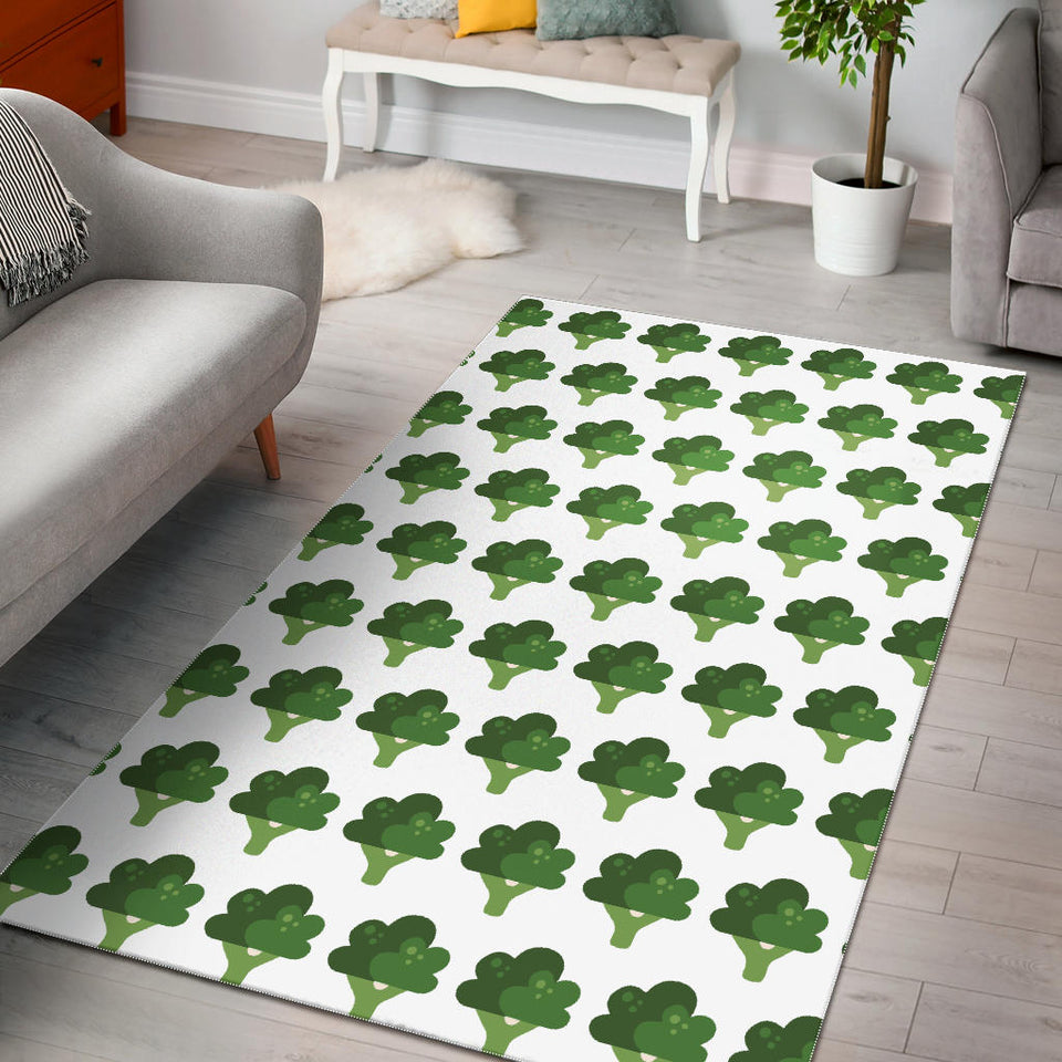 Broccoli Pattern Area Rug