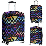 Space Colorful Tribal Galaxy Pattern Luggage Covers