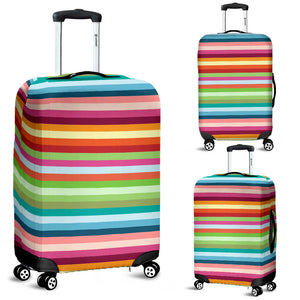 Rainbow Pattern Luggage Covers