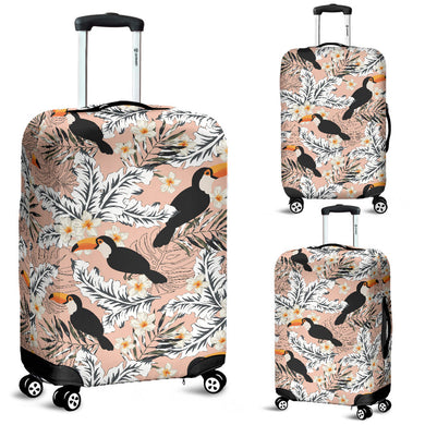 Toucan Theme Pattern Luggage Covers