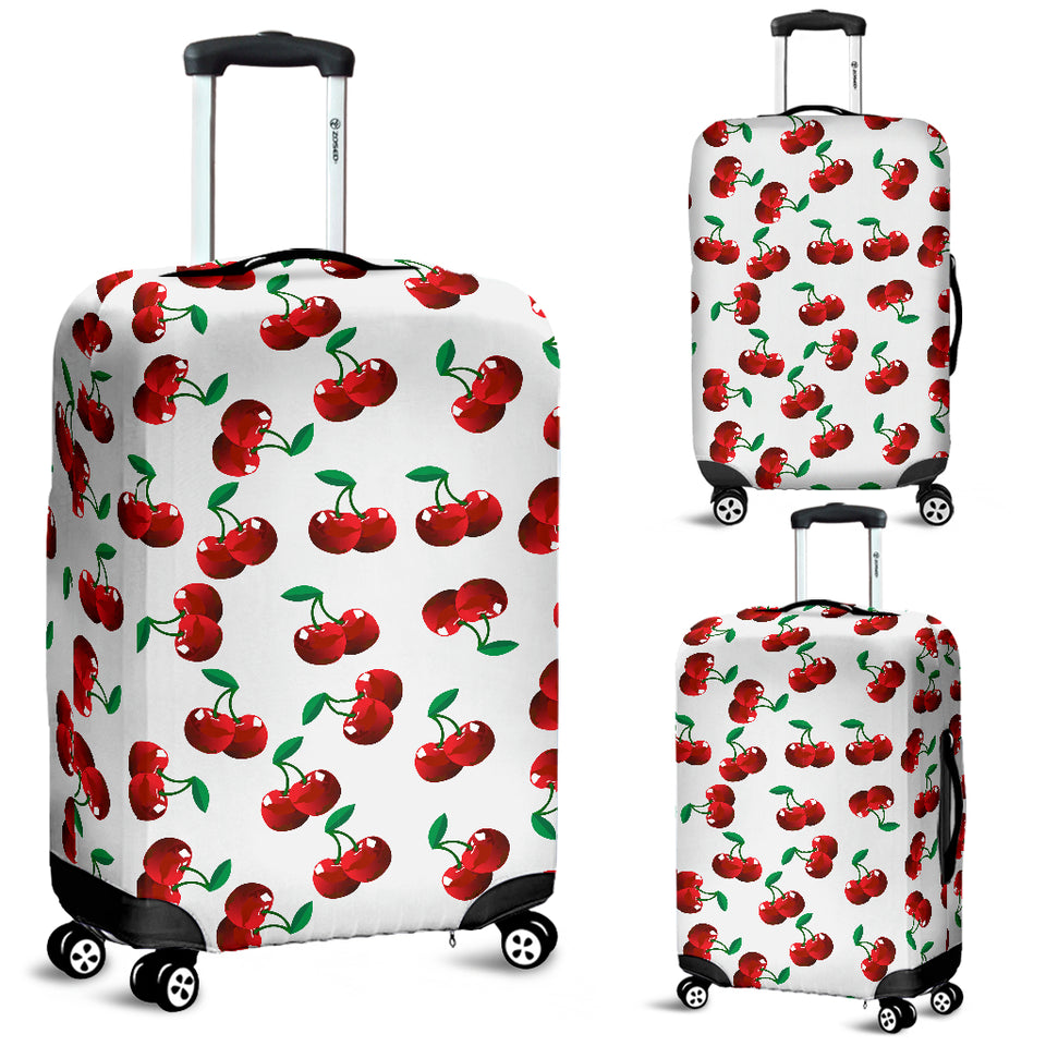 Cherry Pattern Luggage Covers