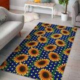 Sunflower Pokka Dot Pattern Area Rug