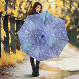 Chemistry Periodic Table Pattern Print Design 02 Umbrella