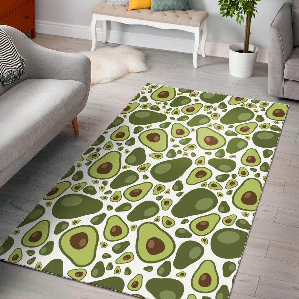 Avocado Pattern Area Rug