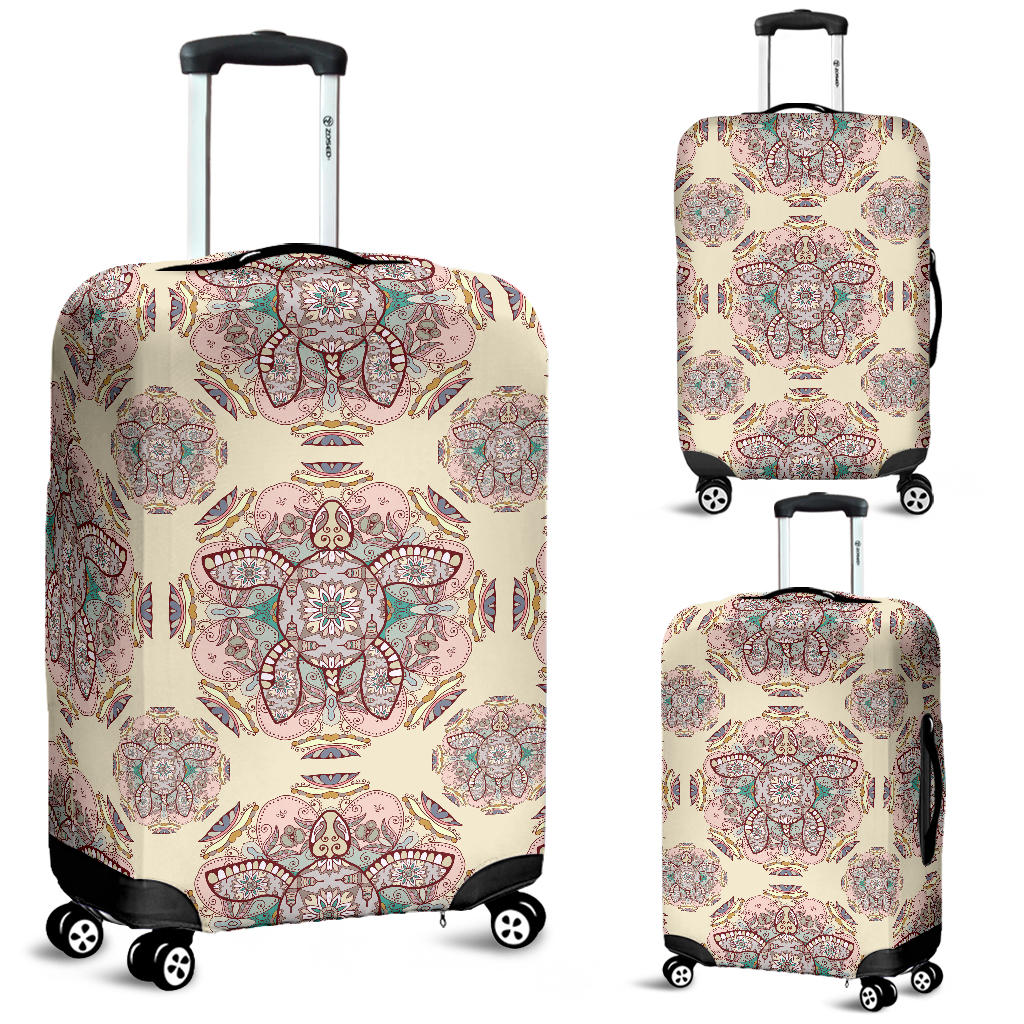 Sea Turtle Tribal Pattern Luggage Covers