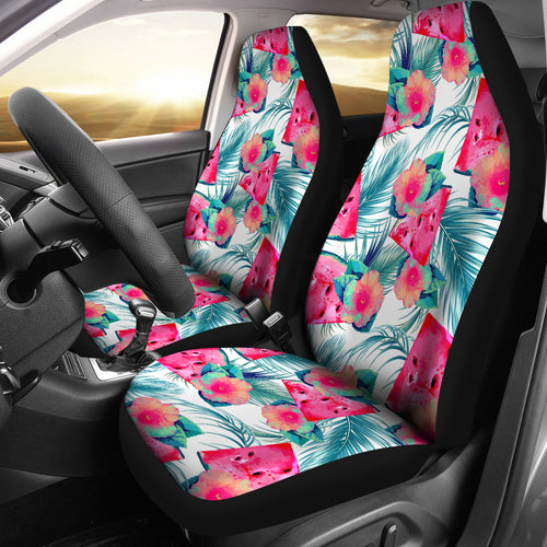 Watermelon Flower Pattern Universal Fit Car Seat Covers