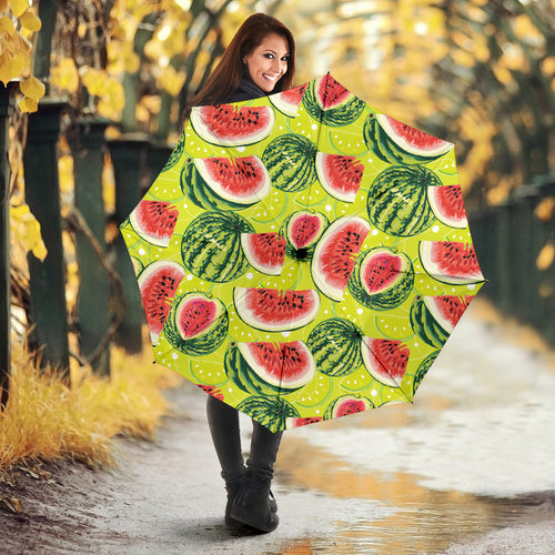 Watermelon Theme Pattern Umbrella