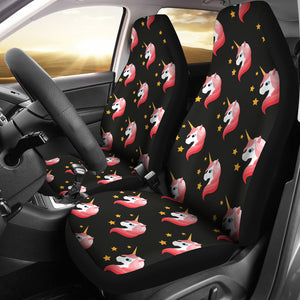 Unicorn Star Pattern Universal Fit Car Seat Covers
