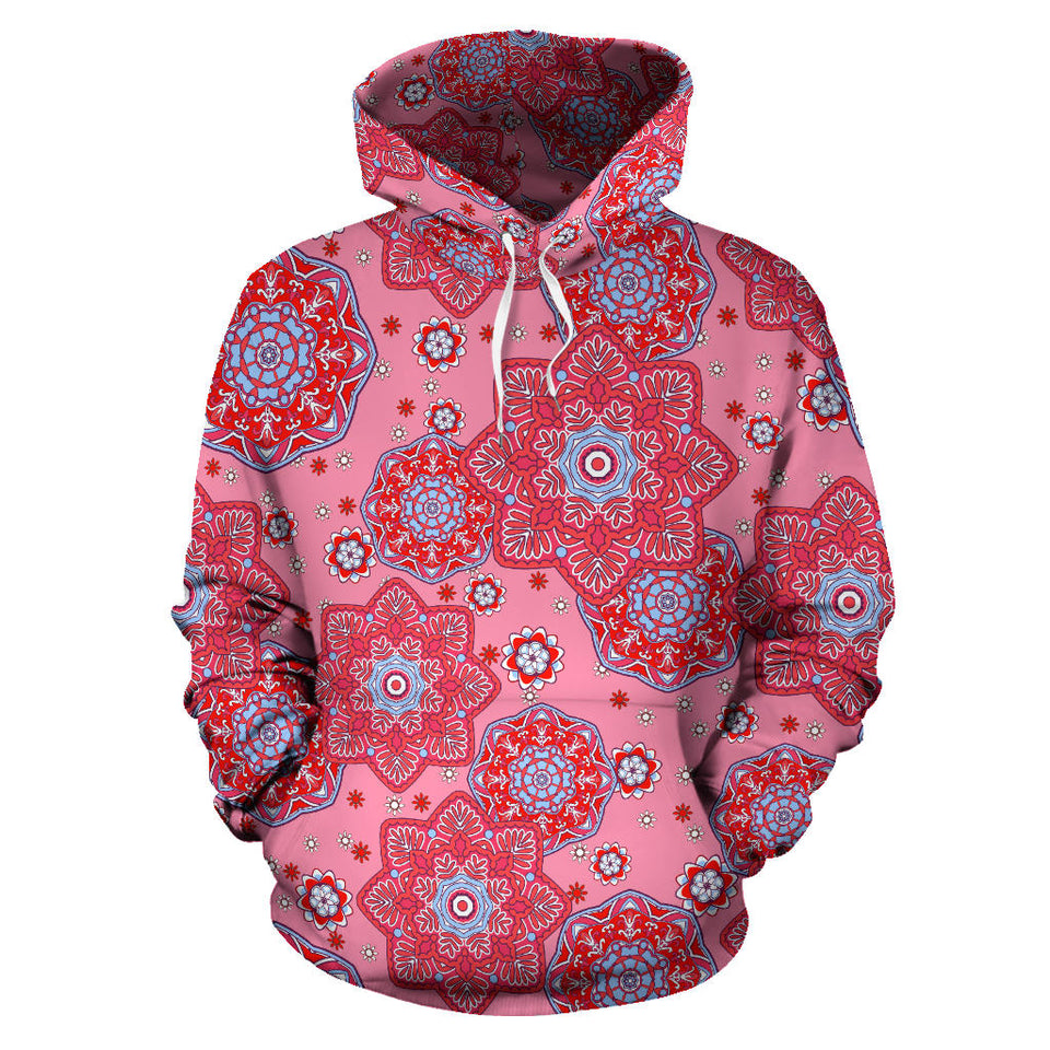 Indian Pnk Pattern Pullover Hoodie