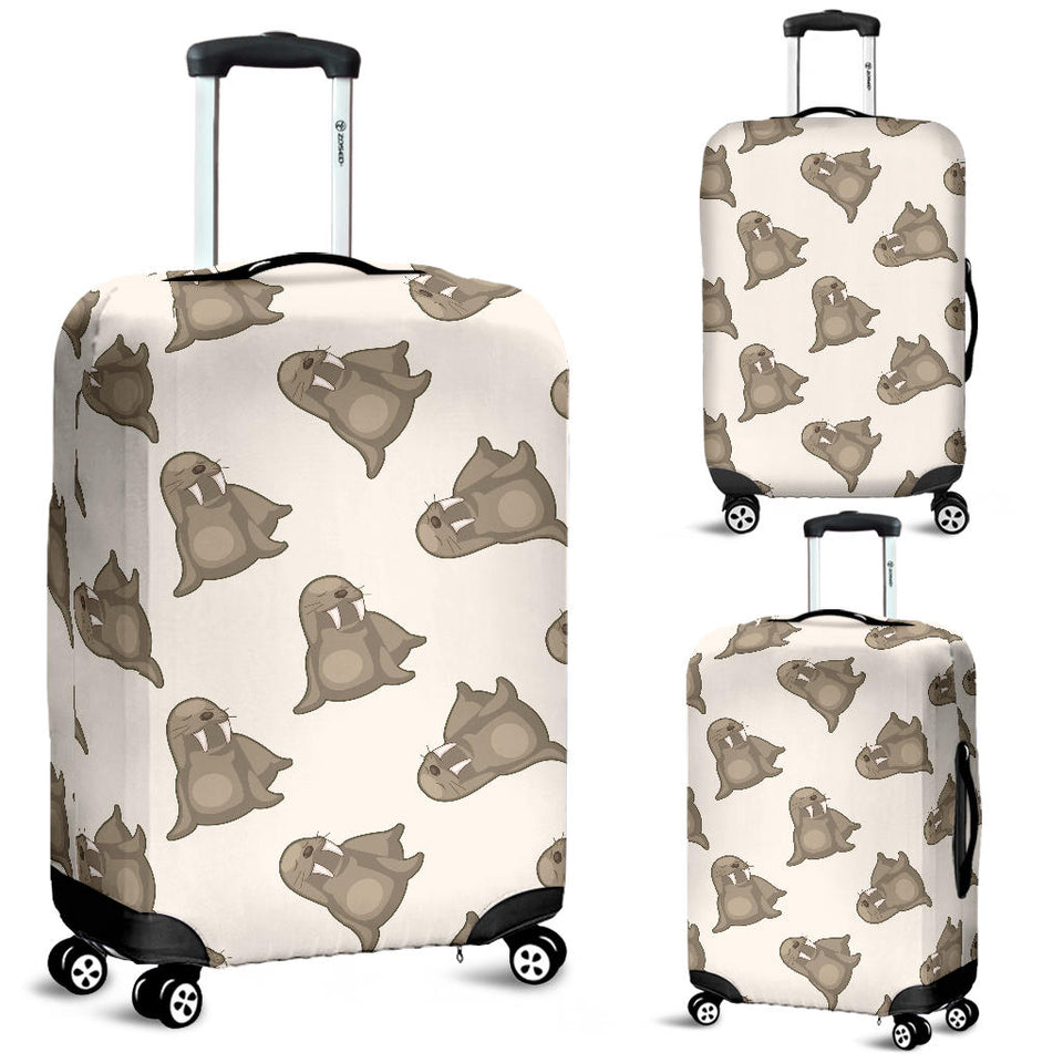 Sea Lion Pattern Luggage Covers