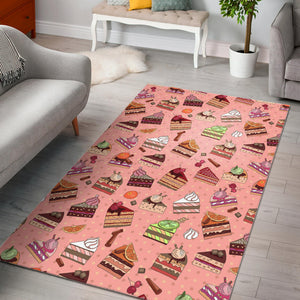 Cake Pattern Pokka dot Background Area Rug