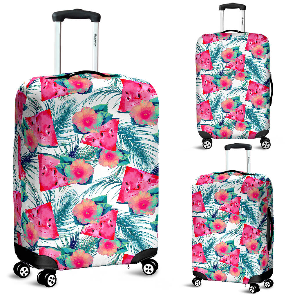 Watermelon Flower Pattern Luggage Covers