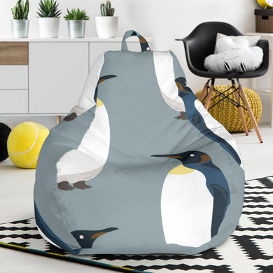 Penguin Pattern Theme Bean Bag Chair