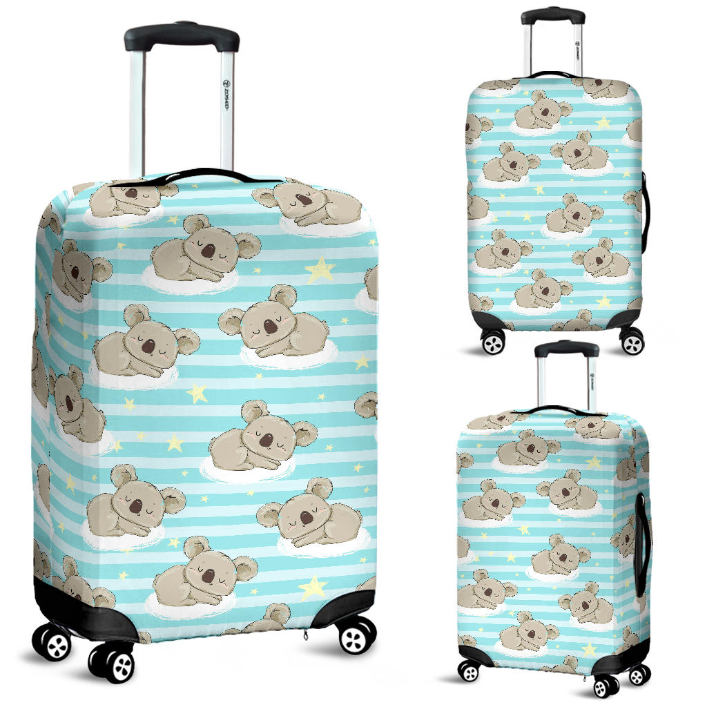 Sleep Koala Pattern Luggage Covers