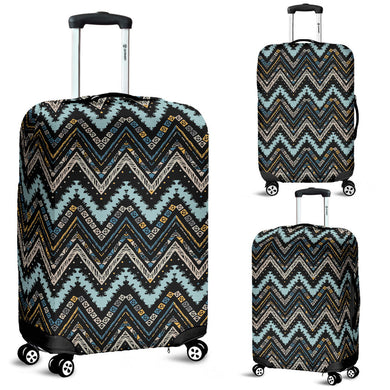 Zigzag Chevron African Afro Dashiki Adinkra Kente Luggage Covers