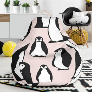 Penguin Pattern Background Bean Bag Chair