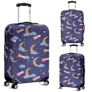 Moon Star Could Pattern Luggage Covers