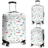 Helicopter Plane Pattern Luggage Covers