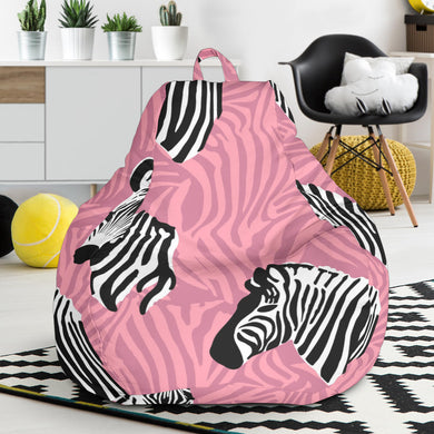 Zebra Head Pattern Bean Bag Chair