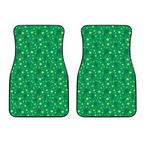 Tennis Pattern Print Design 03 Front Car Mats