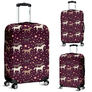 Horse Pattern Background Luggage Covers