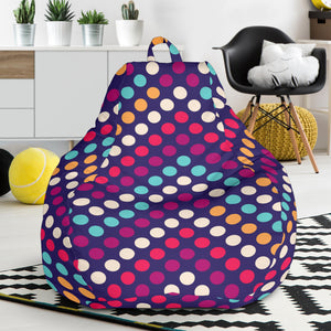 Zigzag Chevron Pokka Dot Aboriginal Pattern Bean Bag Chair