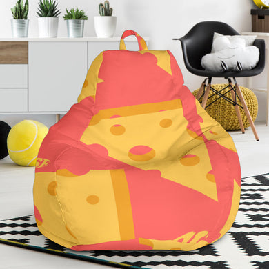 Sliced Cheese Pattern  Bean Bag Chair