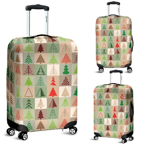Christmas Tree Pattern Luggage Covers