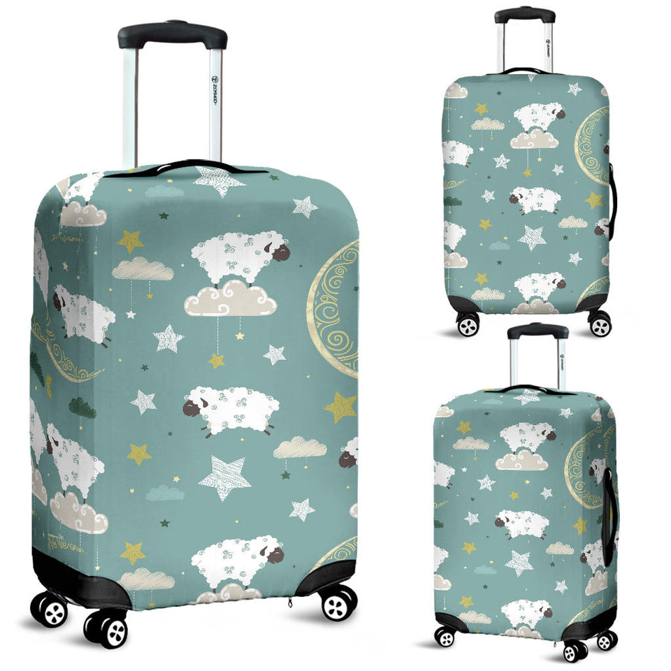 Sheep Sweet Dream Pattern Luggage Covers