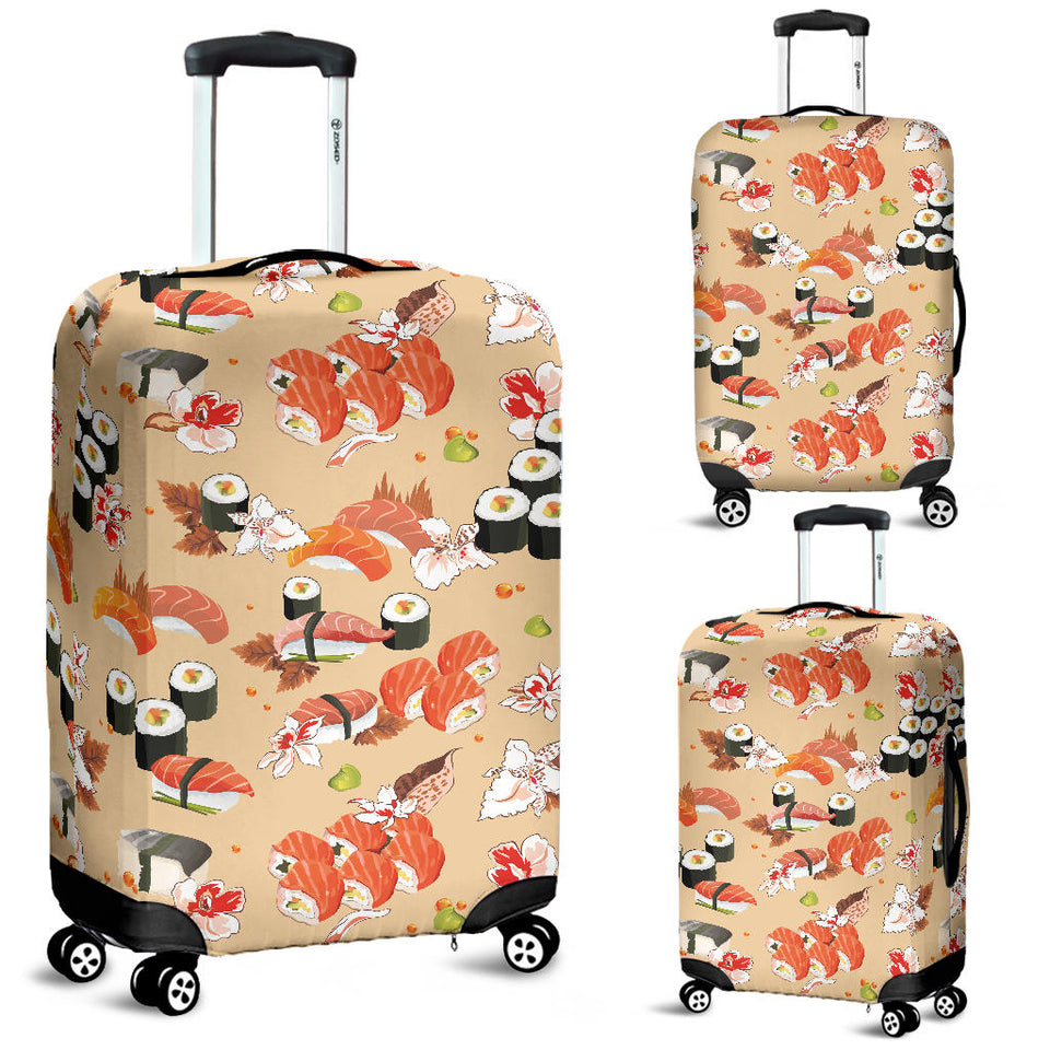 Sushi Pattern Luggage Covers