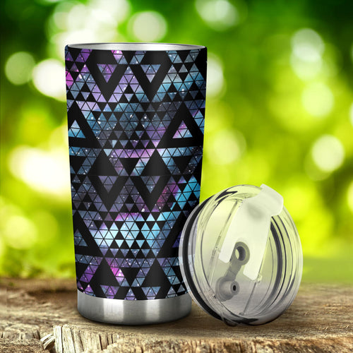 Space Galaxy Tribal Pattern Tumbler