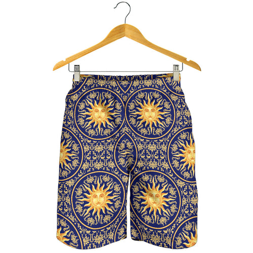 Sun Pattern Men Shorts