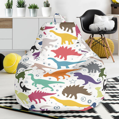 Colorful Dinosaur Pattern Bean Bag Chair