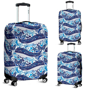 Whale Starfish Pattern Luggage Covers