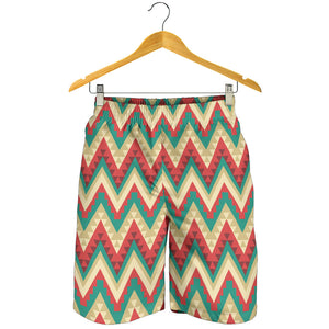 Zigzag Chevron Pattern Men Shorts