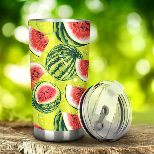 Watermelon Theme Pattern Tumbler