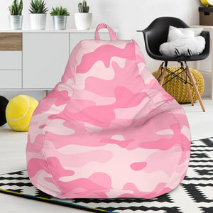 Pink Camo Camouflage Pattern Bean Bag Chair