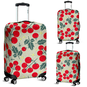 Hand Drawn Tomato Pattern Luggage Covers