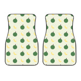 Durian Pattern Theme Front Car Mats