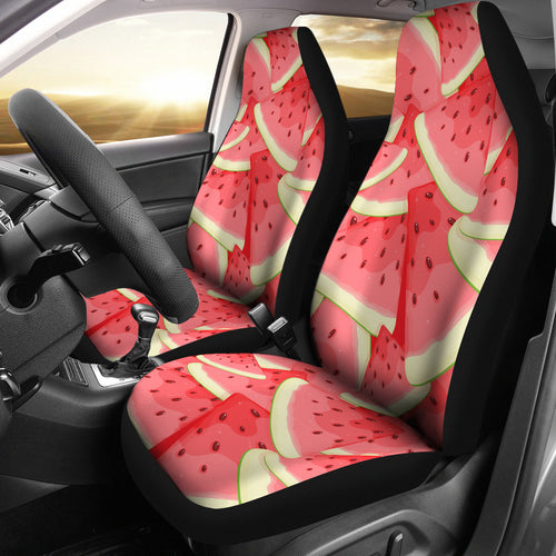 Watermelon Pattern Background Universal Fit Car Seat Covers