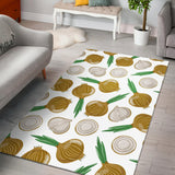 Onion Pattern Background Area Rug