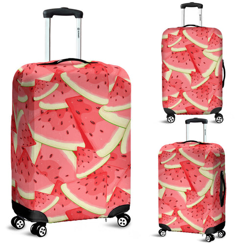 Watermelon Pattern Background Luggage Covers
