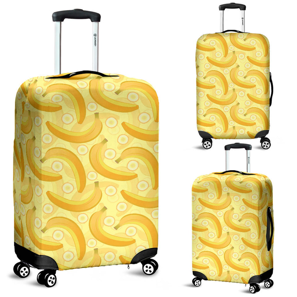 Banana Pattern Luggage Covers