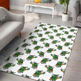 Green Amy Helicopter Pattern Area Rug
