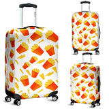 French Fries Pattern Luggage Covers