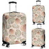 Shell Pattern Background Luggage Covers