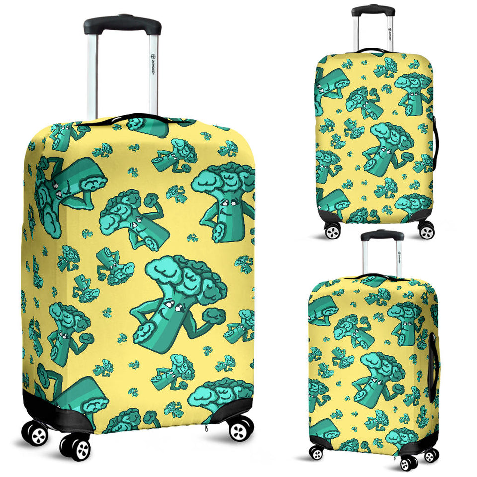 Cute Broccoli Pattern Luggage Covers