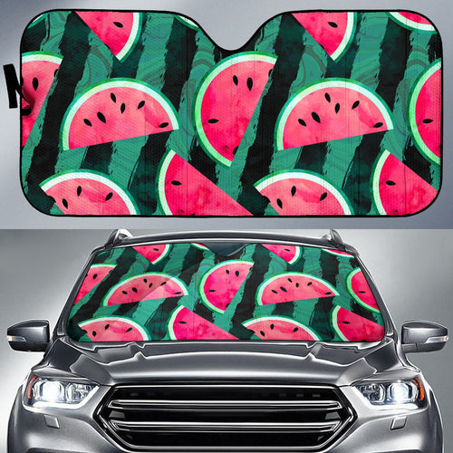 Watermelon Pattern Car Sun Shade