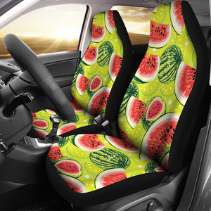 Watermelon Theme Pattern Universal Fit Car Seat Covers
